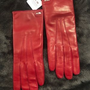 ♦️Coach ♦️Genuine Leather Gloves